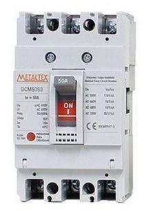 DISJUNTOR CAIXA MOLDADA 3x50A 25KA | METALTEX