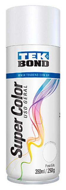 SPRAY SUPER COLOR 350ML BRANCO | TEKBOND