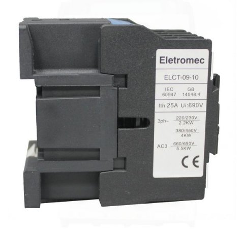 CONTATOR 9A 220V 1NA | ELETROMEC