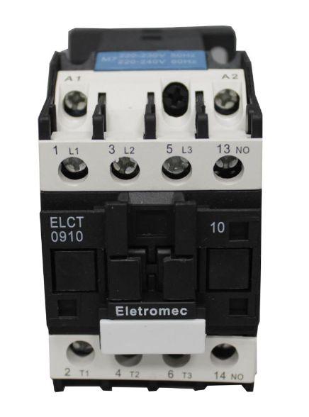 CONTATOR 32A 220V 1NA   ELETROMEC
