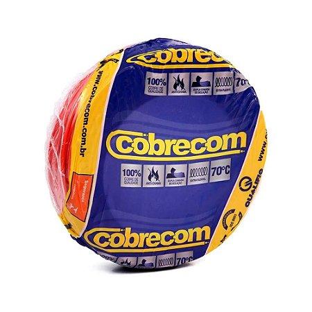 ROLO CABO FLEX 2,5MM VERMELHO COBRECOM
