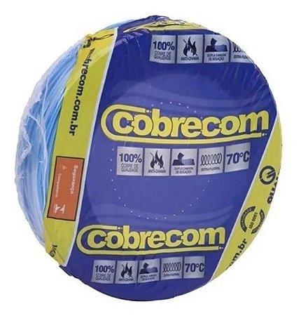 ROLO CABO FLEX 2,5MM AZUL COBRECOM