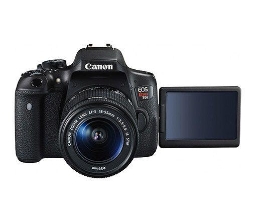 Câmera Fotográfica EOS Rebel T6i - CANON