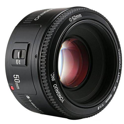 Lente YN-50mm f/1.8 Para Canon EF - YONGNUO