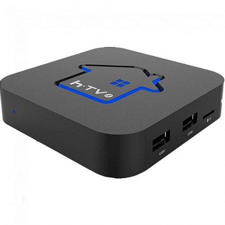 Receptor Htv Box 5 IPTV Wifi/Fhd/Android - Preto