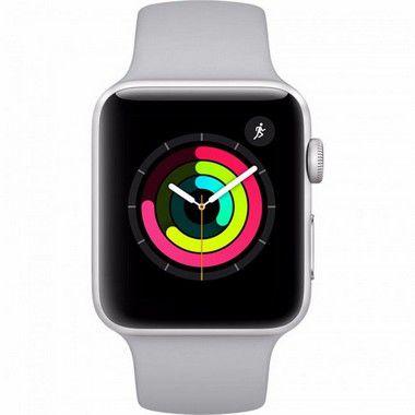 Smart Watch Series 3 GPS 42mm Caixa de Alumínio Dourado com Pulseira Esportiva - APPLE