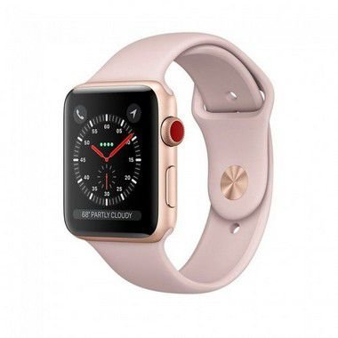 Smart Watch Series 3 (GPS + Cellular) 42mm Caixa de Alumínio Prateado com Pulseira Esportiva - APPLE