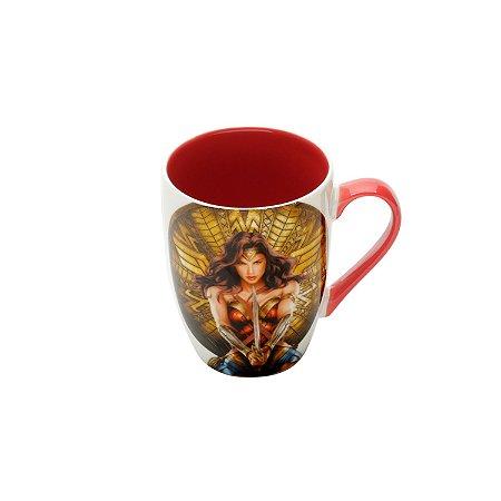 Caneca Porcelana Mulher Maravilha - 330 ml