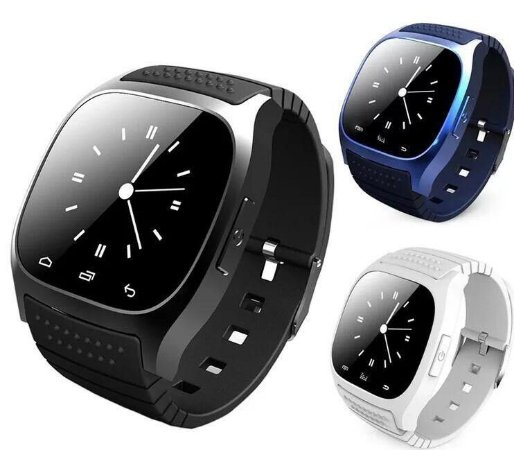 7e8da6e3640 Relógio Inteligente M26 À Prova D  água Smartwatch Androide - Happy ...