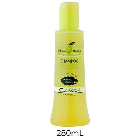 Chihtsai Olive Shampoo (Livre de Sulfatos & Parabenos) 280mL