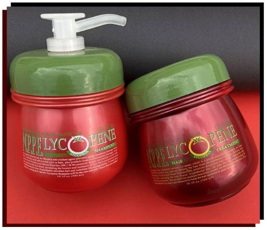 NPPE Lycopene Hair Treatment 300mL + Shampoo Lycopene 300mL - Val. Prox.