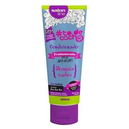#To de Cacho Condicionador - Pra Arrasar No Poo - 200ml