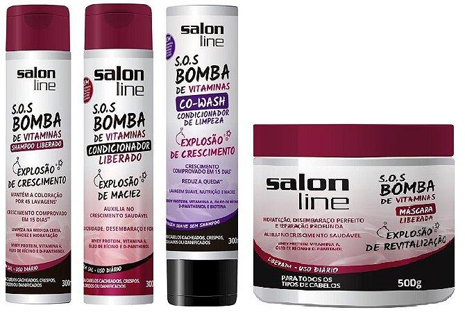 Salon Line - COMBO S.O.S Bomba de Vitaminas