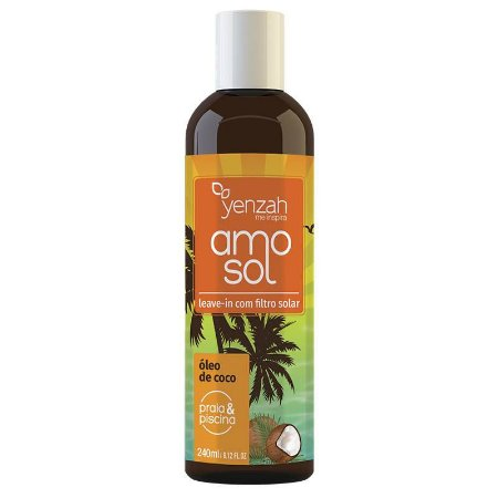 Yenzah AMO Sol - Leave-in com filtro solar - 240ml
