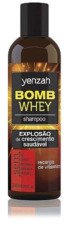 Yenzah Bomb Cream Whey - Shampoo - 240ml