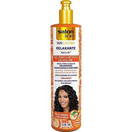 Gel Relaxante Para Controle de Volume S.O.S. - 320ml - Salon Line