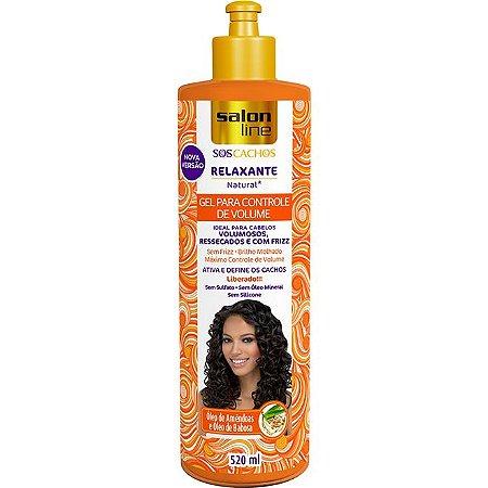 Gel Relaxante Para Controle de Volume S.O.S. - 520ml - Salon Line
