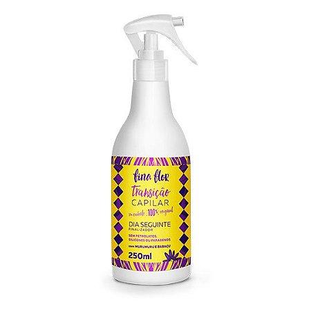 Spray Finalizador Condicionante Dia Seguinte - Transição Capilar - Fina Flor - 250ml
