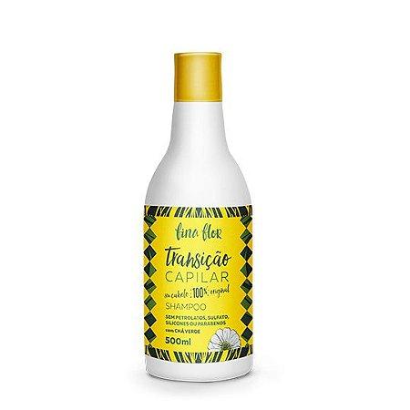 Shampoo - Transição Capilar - Fina Flor - 500ml