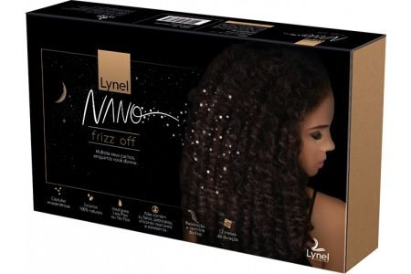 Kit Lynel Nano Frizz Off - Fronha Para Travesseiro + Spray Hidratante Anti-frizz