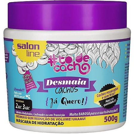 Salon Line #To de Cacho Máscara de Hidratação Desmaia Cachos - 500g