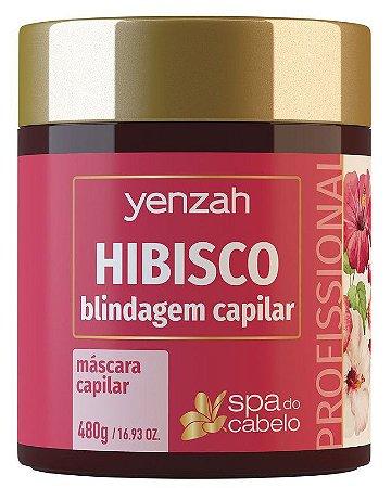 Yenzah Spa do Cabelo - Máscara Capilar Hibisco - 480g