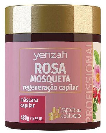 Yenzah Spa do Cabelo - Máscara Capilar Rosa Mosqueta - 480g