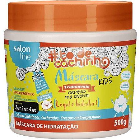 Salon Line Máscara de Hidratação Kids #TodeCachinho - Legal é Hidratar! - 500g