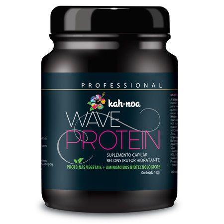 Kah-noa Máscara Suplemento Capilar Wave Protein 1kg - Linha Profissional