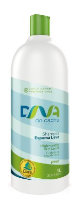 DNA do Cacho Shampoo Espuma Leve 1L - Salon Embelleze