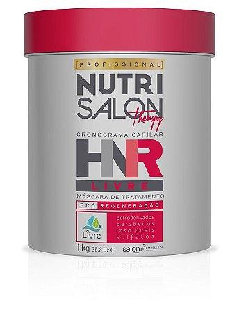 NutriSalon Therapy - Máscara de Tratamento HNR LIVRE Pró-Regeneração 1kg - Salon Embelleze