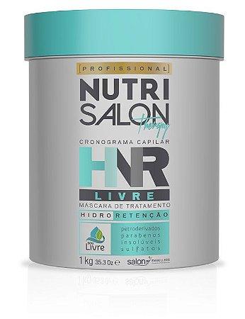 NutriSalon Therapy - Máscara de Tratamento HNR LIVRE Hidro Retenção 1kg - Salon Embelleze