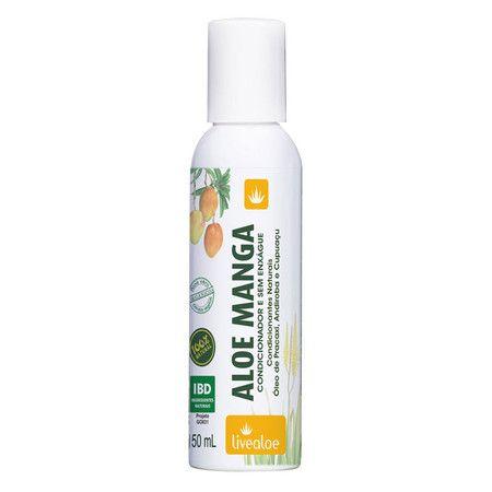 Aloe Manga Condicionador e Creme Sem Enxágue Livealoe - 150ml
