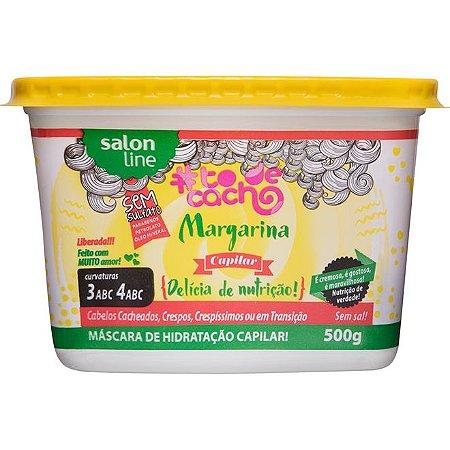 Margarina Capilar #TodeCacho - Máscara de Hidratação Capilar 500g - Salon Line