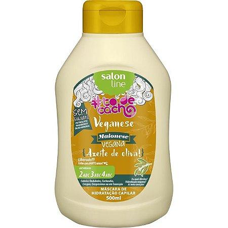 Veganese Maionese Capilar Vegana {Azeite de Oliva} #TodeCacho - Máscara de Hidratação Capilar 500ml - Salon Line