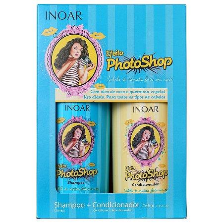Inoar - Kit Efeito Photoshop Shampoo e Condicionador 250ml