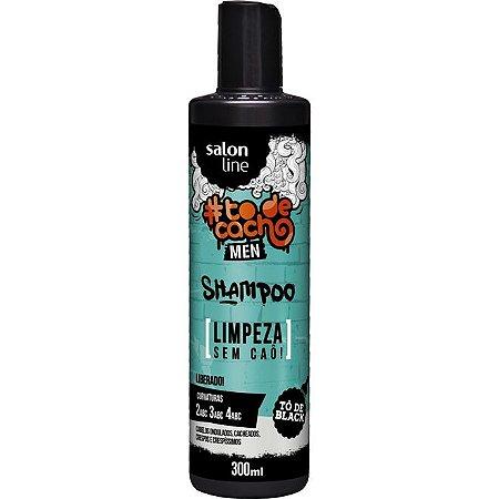 Salon Line Shampoo Men {Limpeza Sem Caô!} #Todecacho - 300ml