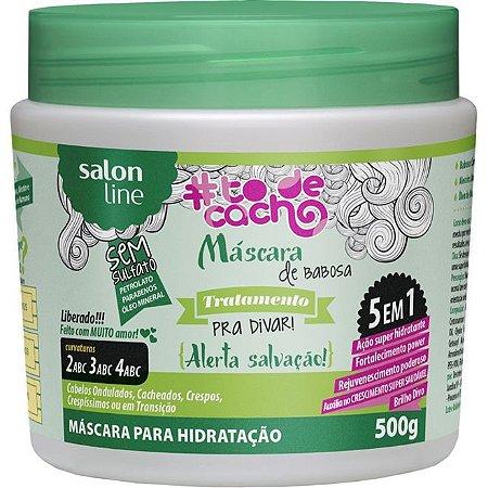 Salon Line Máscara De Babosa - Tratamento Pra Divar #Todecacho - 500g