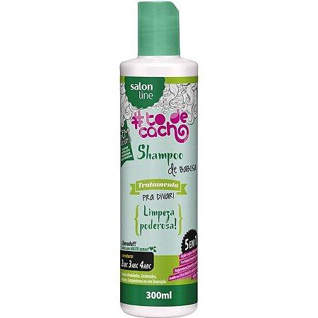 Salon Line Shampoo De Babosa - Tratamento Pra Divar #Todecacho - 300ml