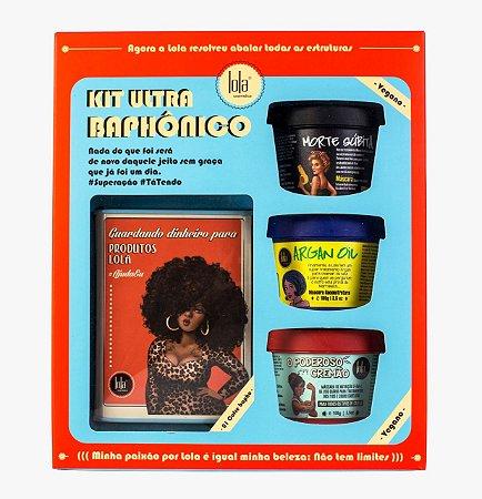 Kit Ultra Baphônico [com Cofrinho] Lola Cosmetics - Edição Limitada