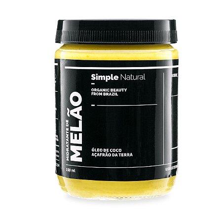 Hidratante Melão 150ml - Simple Organic