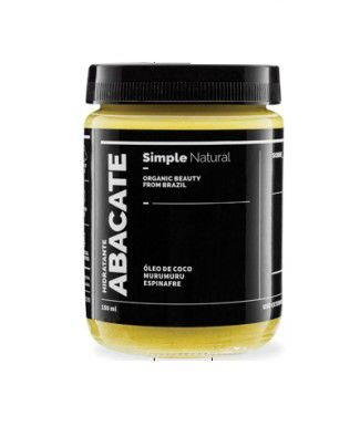 Hidratante Abacate 150ml - Simple Organic