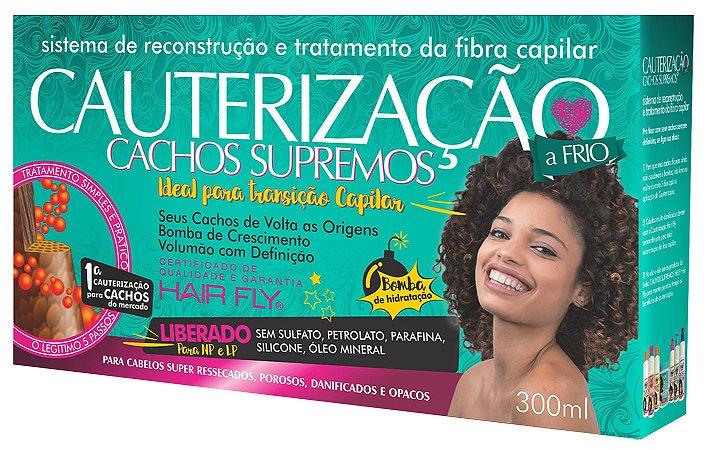 Cauterização Cachos Supremos 300ml - Hair Fly