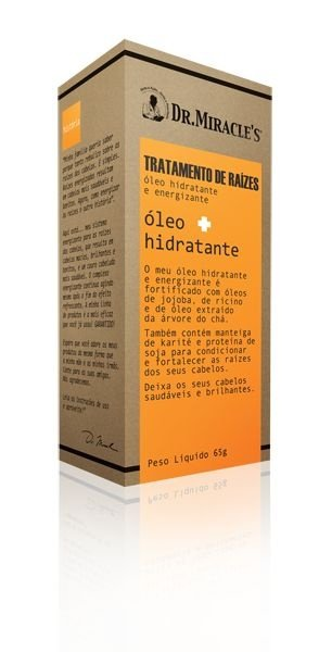 Óleo Hidratante e Energizante - 65g