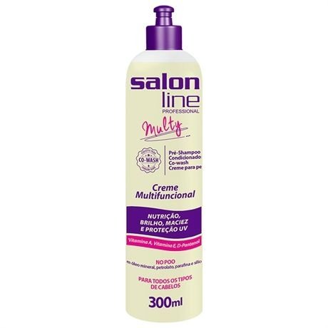 Salon Line Multy - Creme Multifuncional No Poo 300ml