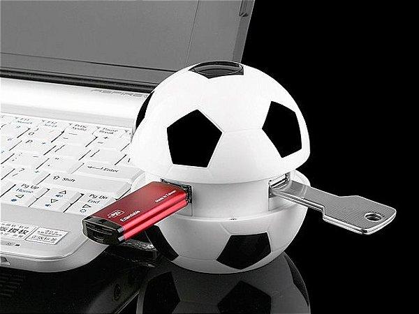 Hub USB Bola de Futebol