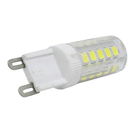 Lâmpada Led Bipino Halógena G9 4.5W Branco Quente e Frio 220V