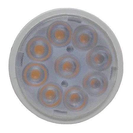 Lâmpada Led Dicróica Mr16 5w Gu10 Branco Quente e Branco Frio Bivolt