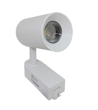 Spot Led Para Trilho Eletrificado 7w Branco Quente, Branco Frio e Branco Neutro Bivolt