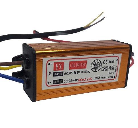 Drive reator 20w para reposição refletor led bivolt